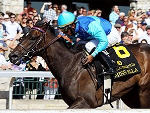 Miss Ella wins the 2015 Beaumont Stakes.