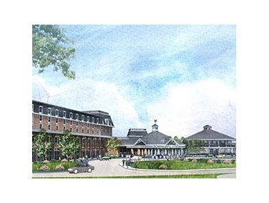 Rendering of Saratoga Casino and Raceway.