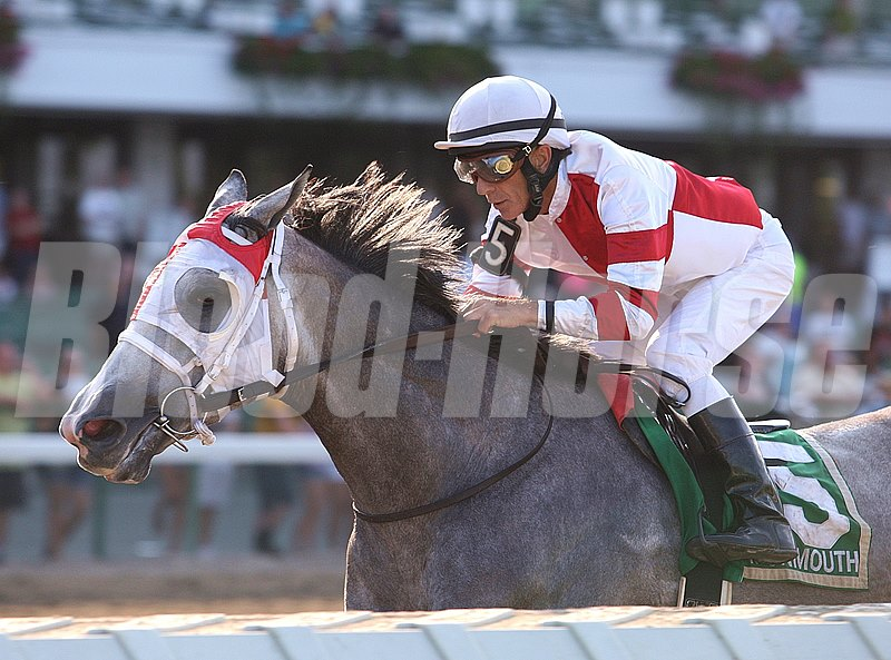 Fox Hill Farms' highly regarded Cassatt muscled her way to victory in the Grade III $105,000 Monmouth Oaks at Monmouth Park, earning her first graded stakes score and extending her winning streak to three for owner Rick Porter and trainer Larry Jones.