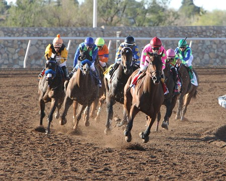 Arnold Zetcher's Firing Line threw his hat emphatically into the ring of Triple Crown contenders with a dominating victory in the Grade III $800,000 Sunland Derby at Sunland Park.