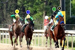 Arkansas Derby Race Sequence