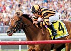 Little Mike wins the 2012 Arlington Million