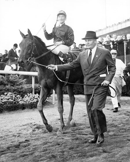 Buckpasser after winning in 1965, he also went on to win Champion Two Year Old Male that year.