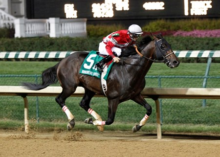 Owner/breeder Janis Whitham's Fort Larned, winner of the 2012 Breeders' Cup Classic (gr. I), prepped for another shot at the race with a wire-to-wire score in the inaugural $191,275 Homecoming Classic at Churchill Sept. 28.