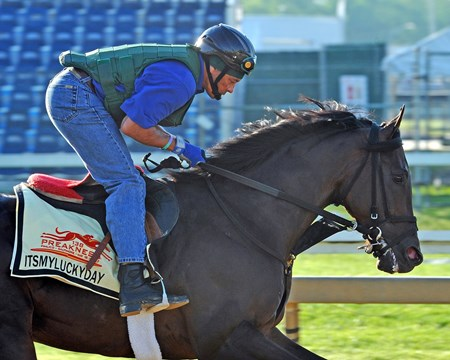 Itsmyluckyday at Pimlico Friday morning...