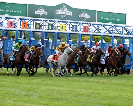 Off in the Woodford Reserve Manhattan Handicap (gr. IT)