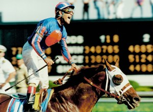 Thunder Gulch wins 1995 Kentucky Derby with Gary Stevens aboard