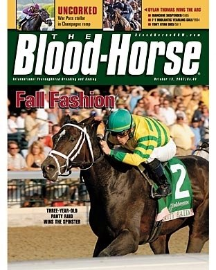 The Blood-Horse: 10/13/2007 issue