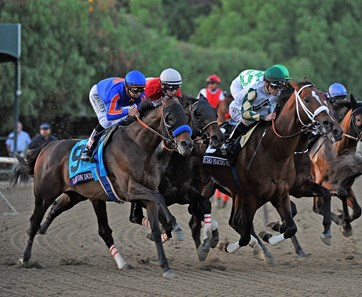 Start of the Breeders' Cup Classic with