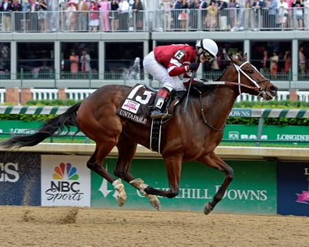 Coming in at #9 was the 2014 Kentucky Oaks (gr. IT) at Churchill Downs.