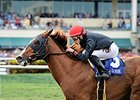 "Imagining comes through with a victory in the Pan American Stakes.<br><a target=""blank"" href=""http://photos.bloodhorse.com/AtTheRaces-1/At-the-Races-2015/i-hfgLtCd"">Order This Photo</a>"