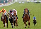 "Ruler of The World comes home strong to win the Investec Derby.<br><a target=""blank"" href=""http://photos.bloodhorse.com/AtTheRaces-1/at-the-races-2013/27257665_QgCqdh#!i=2547809115&k=ScCgLHr"">Order This Photo</a>"