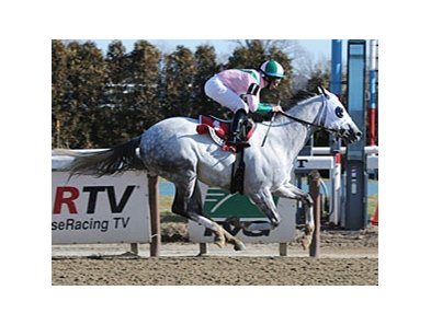 "Redding Colliery and Alan Garcia take the Evening Attire at Aqueduct.<br><a target=""blank"" href=""http://www.bloodhorse.com/horse-racing/photo-store?ref=http%3A%2F%2Fpictopia.com%2Fperl%2Fgal%3Fprovider_id%3D368%26ptp_photo_id%3D9805535%26ref%3Dstory"">Order This Photo</a>"