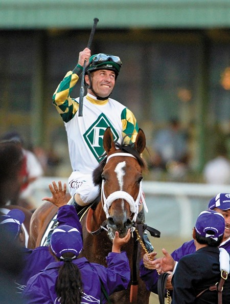 Mucho Macho Man wins the Breeders' Cup Classic (gr. 1)