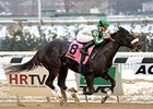 Hard to Stay Notgo wins the Franklin Square Stakes.