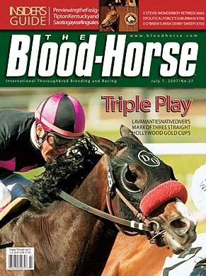 The Blood-Horse:  July 7, 2007 issue