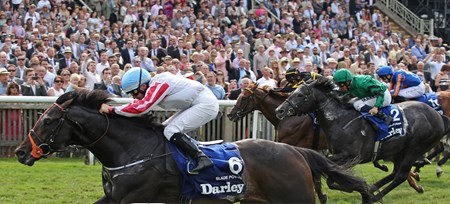 Slade Power solidified his spot as Europe's top-ranking sprinter this season when scoring a clear win in the Darley July Cup (Eng-I) at Newmarket in England.