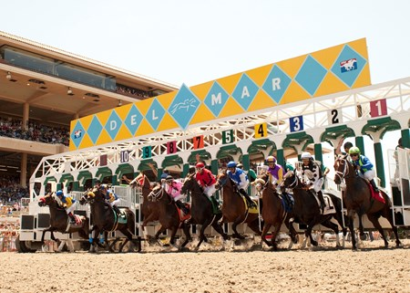 The gates fly open to kick off the 2013 Del Mar racing season in California.