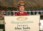 Milestone 5,000th Victory for Jockey Solis