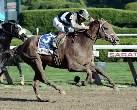 Capo Bastone wins the Foxwoods King's Bishop Stakes (gr. 1)