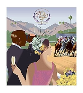 John Mattos' vintage-inspired official primary image for the 2013 Breeders' Cup World Championships.