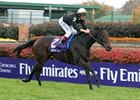 Ouija Board wins the Emirates Airline Filly and Mare Turf