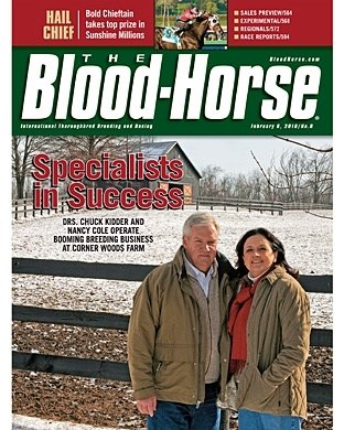 The Blood-Horse: 2/6/2010 issue