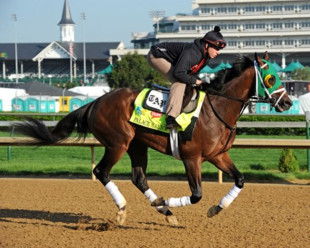 Wednesday morning at Churchill Downs...