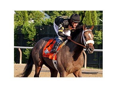 Preakness winner Oxbow finished 2nd in the Belmont Stakes.