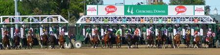 And They're Off in the Kentucky Derby!