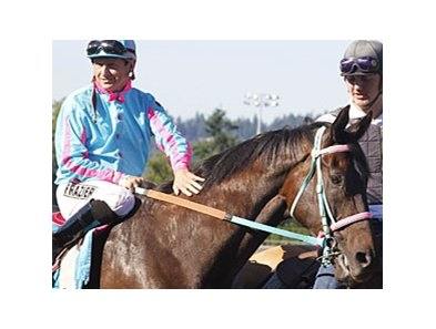Ricky Frazier and Noosa Beach at Emerald Downs