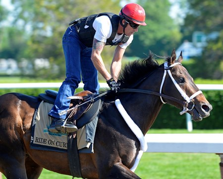 Caption: Ride On Curlin with Bryan Beccia