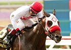Big Macher scores in the grade 1 Bing Crosby at Del Mar