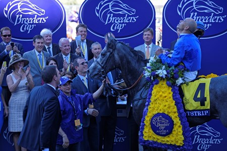 Breeders' Cup Juvenile Turf Winner's Circle