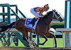 Lovely Maria and Kerwin Clark take the Ashland Stakes at Keeneland.