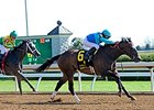 "Miss Ella won the Beaumont Stakes at Keeneland during in the spring.<br><a target=""blank"" href=""http://photos.bloodhorse.com/AtTheRaces-1/At-the-Races-2015/i-SrnWNbJ"">Order This Photo</a>"