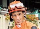 John Velazquez, chairman of the Jockeys' Guild and rider of Quality Road, the morning line favorite in the Travers.