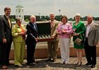 Dolphus Morrison (third from left) in Churchill Downs winner's circle after Rachel Alexandra's 2009 Kentucky Oaks win.