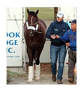 Carpe Diem arrived at Keeneland on March 31.