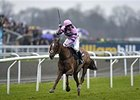 Silviniaco Conti wins the 2014 William Hill King George VI Chase.