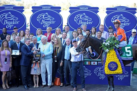 Breeders' Cup Distaff Winner's Circle