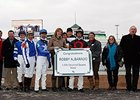 Jockey Robby Albarado celebrated his 1,000th victory at Churchill Downs Nov. 13.