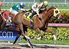 "Classic Point gets up late to win the Inside Information Stakes.<br><a target=""blank"" href=""http://photos.bloodhorse.com/AtTheRaces-1/At-the-Races-2015/i-3rgKHSK"">Order This Photo</a>"