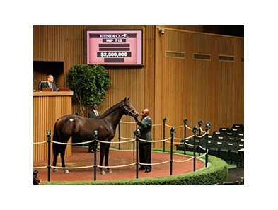 Hip 712, a War Front colt, was the Book 1 top seller.