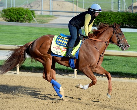 Caption: Chitu with Dana Barnes