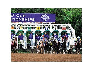 Breeders' Cup returns to Santa Anita this year