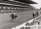 Secretariat wins the Marlboro Cup.
