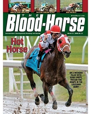 The Blood-Horse: 03/21/2009 issue
