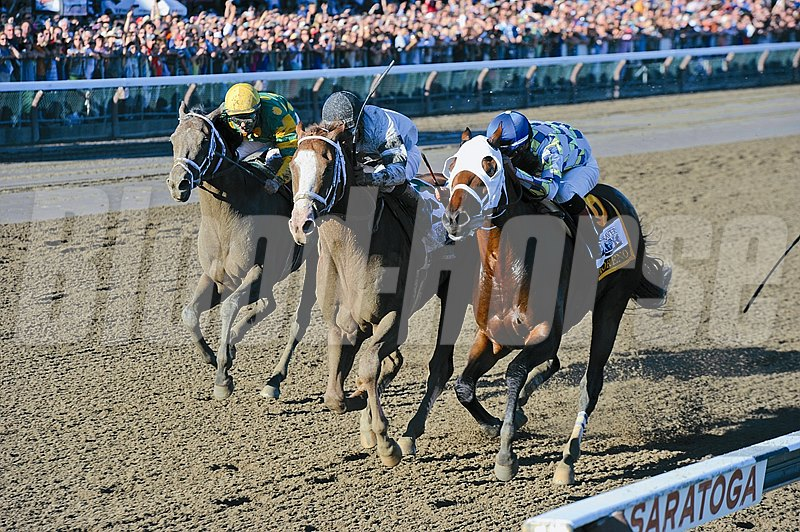 Will Take Charge wins the Travers Stakes (gr. 1) Jockey: Luis Saez SARATOGA, Saratoga Springs, NY Purse: $1,000,000 Date: August 24, 2013 Class: Grade 1 TV: NBC Age: 3 yo Race: 12 Distance: One And One Fourth Miles Post Time: 5:46 PM