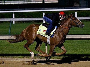 War Story breezed five furlongs in 1:02 at Churchill Downs the morning of April 22.